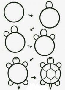 Cómo Dibuja Sencillo Fácil Paso a Paso