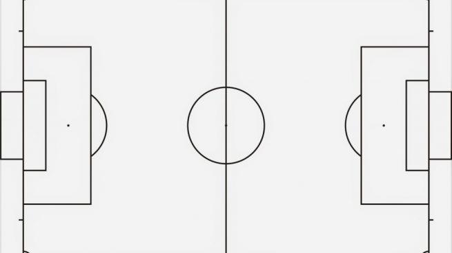 Cómo Dibuja Un Campo De Fútbol Paso a Paso Fácil