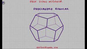 Cómo Dibujar Un Dodecaedro Fácil Paso a Paso