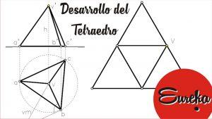 Cómo Dibujar Un Tetraedro Paso a Paso Fácil