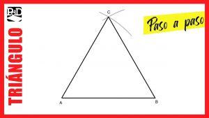 Cómo Dibuja Un Triángulo Equilátero Fácil Paso a Paso