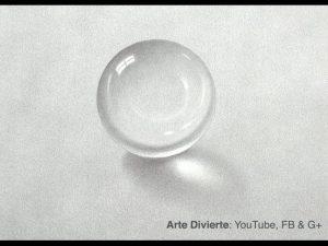 Dibuja Una Bola De Cristal Realista Fácil Paso a Paso