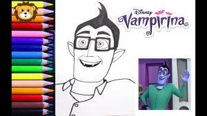 Dibuja A Boris De Vampirina Paso a Paso Fácil