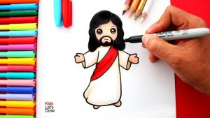 Cómo Dibuja A Dios Fácil Paso a Paso
