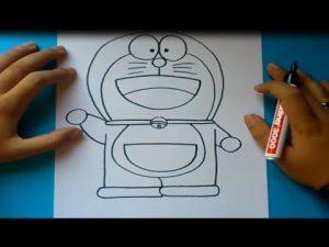Dibuja A Doraemon Paso a Paso Fácil