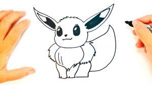 Dibuja A Eevee De Pokémon Paso a Paso Fácil
