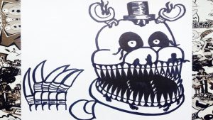 Cómo Dibujar A Freddy 4 Paso a Paso Fácil