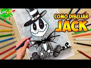 Cómo Dibuja A Jack Skeleton Chibi Fácil Paso a Paso