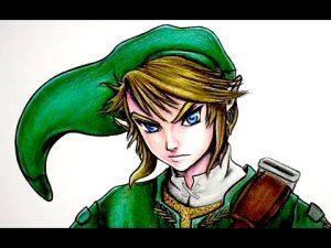 Dibuja A Link De The Legend Of Zelda Paso a Paso Fácil