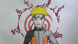 Dibujar A Naruto Shippuden Paso a Paso Fácil