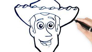 Cómo Dibuja A Woody Paso a Paso Fácil