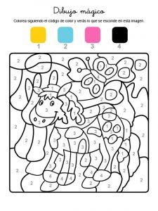 Dibujar Actividades Para Colorear Paso a Paso Fácil