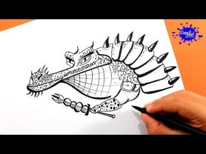 Cómo Dibujar Al Maestro Croc De Kung Fu Panda Fácil Paso a Paso