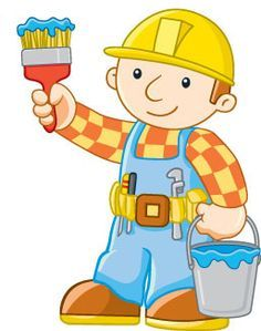Dibuja Bob El Constructor Paso a Paso Fácil