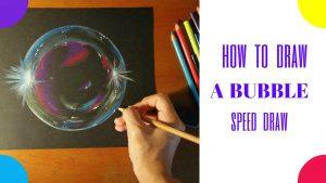 Cómo Dibuja Burbujas Fácil Paso a Paso