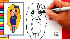 Cómo Dibujar Chicas Fácil Paso a Paso