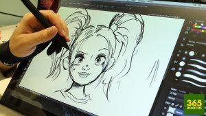 Dibujar Con Tableta Grafica Fácil Paso a Paso