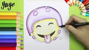 Dibuja El Emoji De Luna De Soy Luna Fácil Paso a Paso