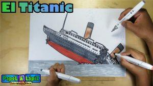 Cómo Dibuja El Titanic Paso a Paso Fácil