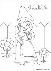 Cómo Dibujar Gnomeo Julieta Paso a Paso Fácil