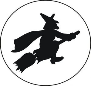 Dibuja La Silueta De Una Bruja Para Halloween Fácil Paso a Paso