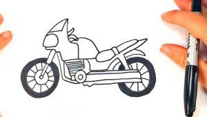 Dibujar Motos Paso a Paso Fácil