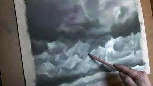 Cómo Dibujar Nubes Realistas Paso a Paso Fácil