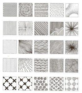 Cómo Dibuja Texturas Paso a Paso Fácil