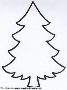 Dibujar Un Árbol De Navidad Fácil Paso a Paso