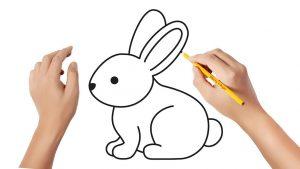 Cómo Dibuja Un Conejo Paso a Paso Fácil