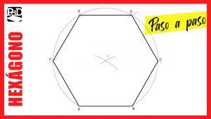 Cómo Dibujar Un Hexágono Regular Fácil Paso a Paso