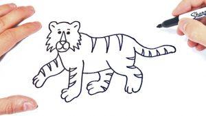 Dibujar Un Jaguar Paso a Paso Fácil