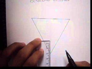 Cómo Dibuja Un Octaedro Paso a Paso Fácil