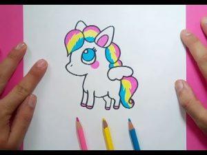Dibuja Un Pony Fácil Paso a Paso