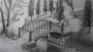 Cómo Dibuja Un Puente Paso a Paso Fácil