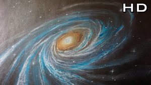 Dibuja Una Galaxia Paso a Paso Fácil