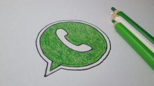Dibuja Whatsapp Paso a Paso Fácil