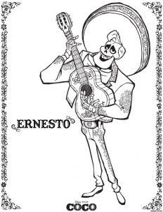 Cómo Dibuja A Ernesto De La Cruz De Coco Paso a Paso Fácil