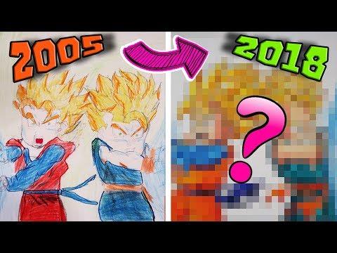 Dibuja A Goten Y Trunks De Dragon Ball Paso a Paso Fácil