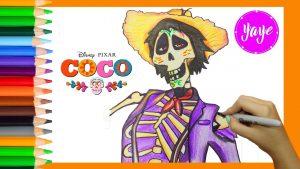 Cómo Dibuja A Hector De Coco Fácil Paso a Paso