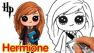 Dibujar A Hermione Granger Fácil Paso a Paso