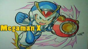 Dibuja A Megaman X Fácil Paso a Paso