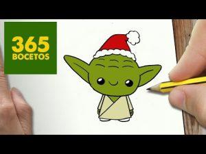 Cómo Dibuja A Yoda De Star Wars Fácil Paso a Paso