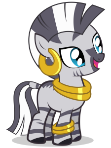 Dibujar A Zecora De My Little Pony Paso a Paso Fácil