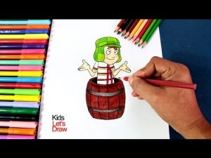 Dibuja Al Chavo Del 8 Paso a Paso Fácil
