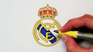 Dibujar El Escudo Del Real Madrid Fácil Paso a Paso