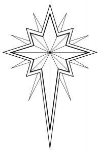 Dibuja Estrella De Belén Paso a Paso Fácil
