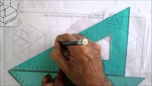 Dibuja Isometricos Fácil Paso a Paso
