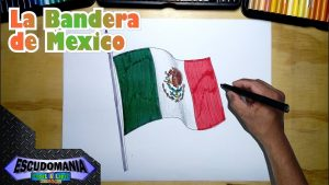 Cómo Dibujar La Bandera De Mexico Fácil Paso a Paso