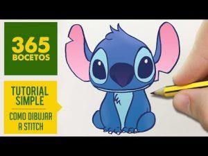 Dibuja Lilo Y Stitch Fácil Paso a Paso